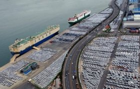 Korea vehicles prepare for export